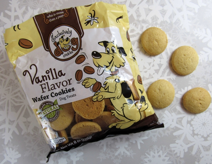 Exclusively Dog Cookies Vanilla Flavor Wafer