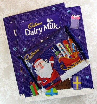 Cadbury Dairy Milk Chocolate Advent 2016 Mini Review