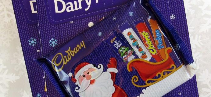 Cadbury Dairy Milk Chocolate Advent 2016 Mini Review