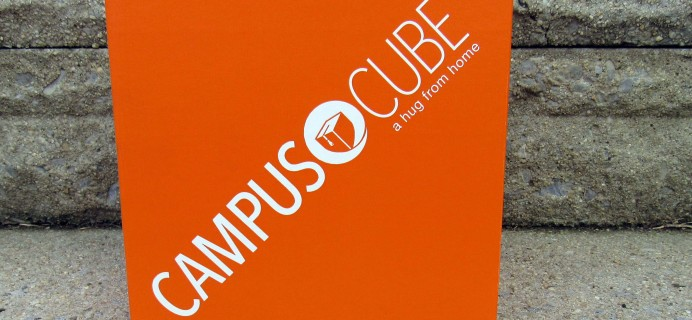 CampusCube College Care Package October 2016 Subscription Box Review + Coupon – Guys!