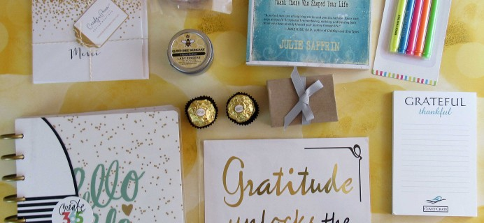 Covet Crate November 2016 Subscription Box Review + Coupon