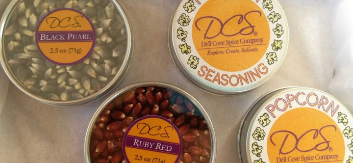 November 2016 DCS Gourmet Popcorn of the Month Club Subscription Box Review + Coupon