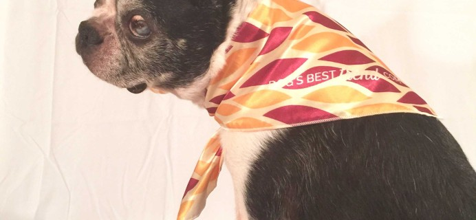 Dog's Best Trend October/November 2016 Subscription Box Reviews