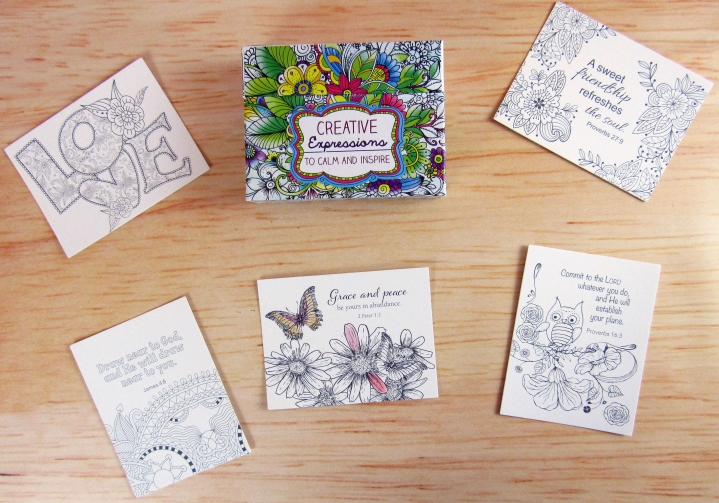 Creative Expressions Scripture Cards