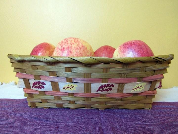 Fall Leaf Basket