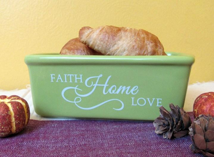 Faith Home Love Mini Load Pan