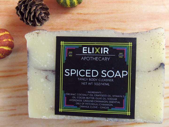 Elixir Apothecary Spiced Soap