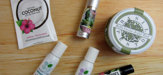 Herbal Bliss Subscription Box Review – October 2016