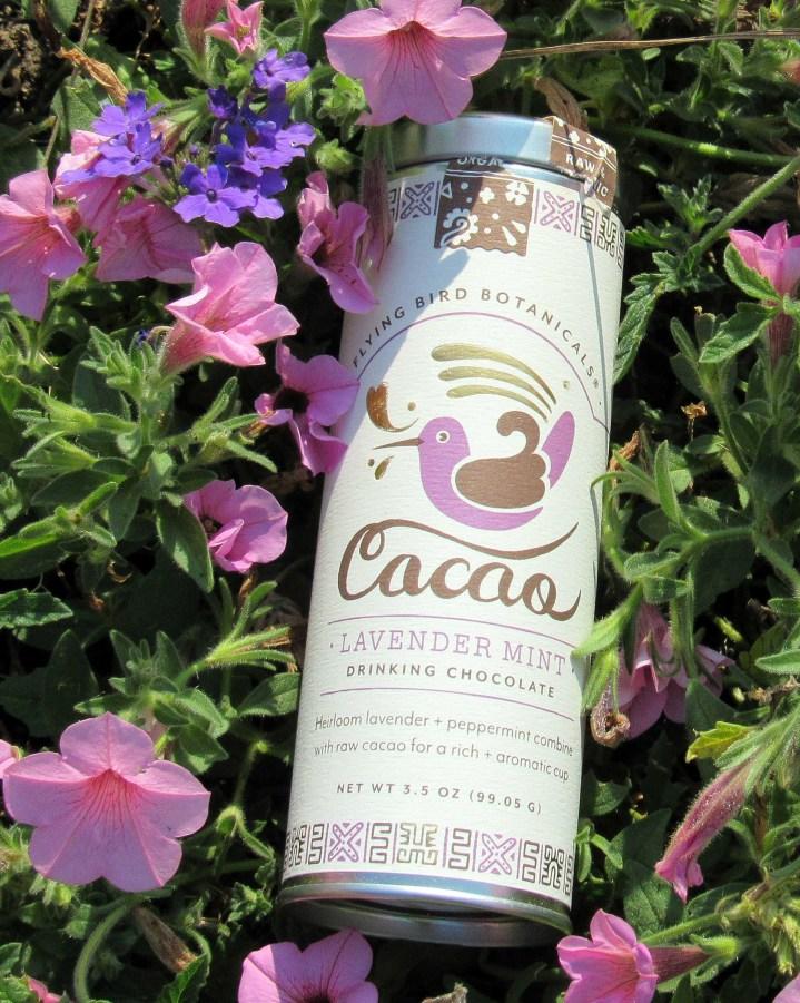 Flying Bird Botanicals Cacao Lavender Drinking Chocolate