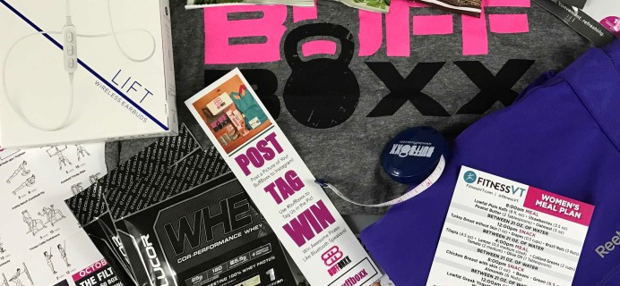 BuffBoxx November 2016 Subscription Box Review + Coupon!