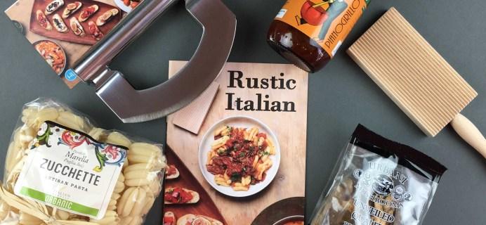 Hamptons Lane October 2016 Subscription Box Review & Coupon: Rustic Italian Box