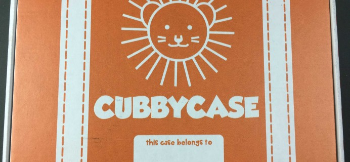 CubbyCase November 2016 Subscription Box Review + Coupon