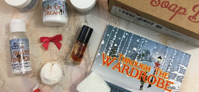 Fortune Cookie Soap Winter 2016 Subscription Box Review