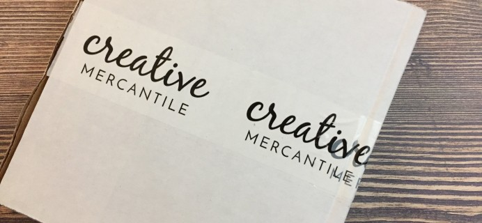 Creative Mercantile September 2016 Subscription Box Review