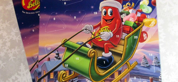 Jelly Belly Countdown to Christmas 2016 Advent Calendar Mini Review