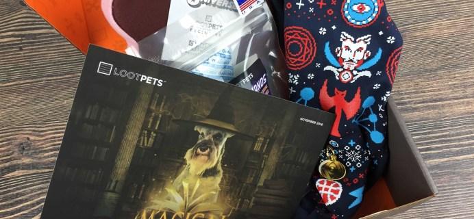 Loot Pets November 2016 Review & Coupon