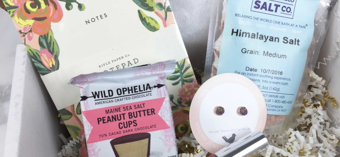 November 2016 Mommy Mailbox Subscription Box Review