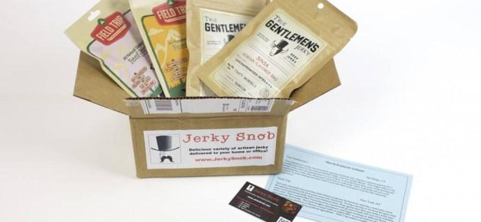 Jerky Snob Cyber Monday Coupon: Save 20%!
