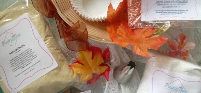PastryBase Subscription Box Review & Coupon – November 2016