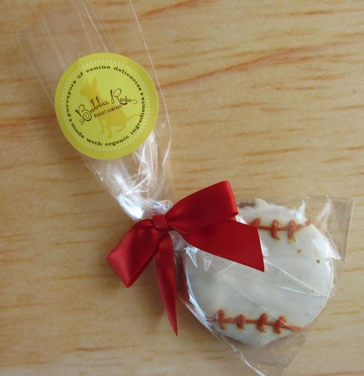 Gourmet Baseball Cookie
