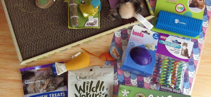 Purr-Packs November 2016 Subscription Review & Coupon – Fun and Love Size!