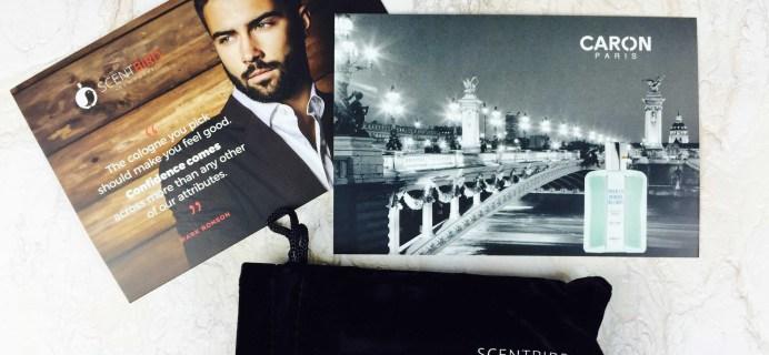 November 2016 Scentbird for Men Subscription Review & Coupon