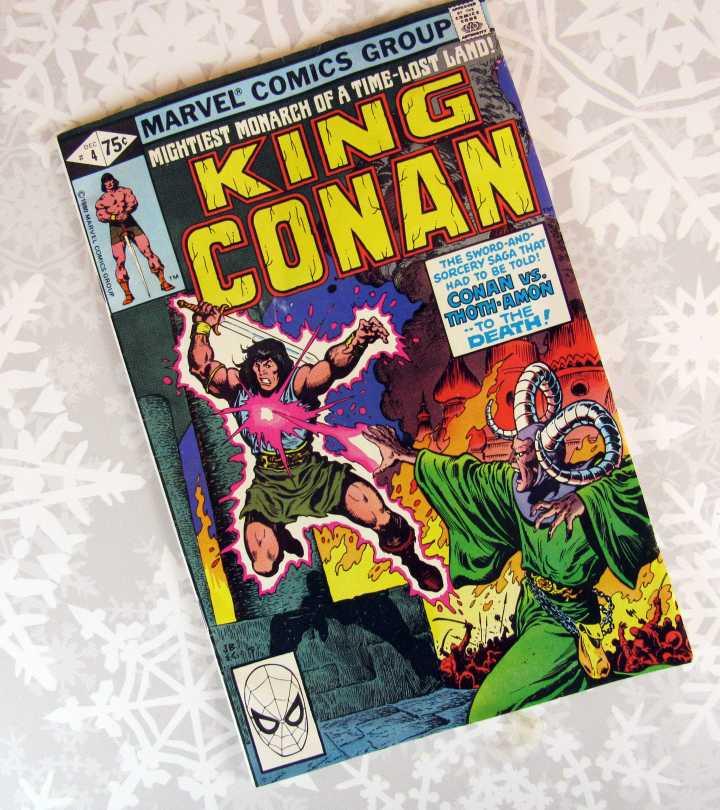 King Conan Comic Book