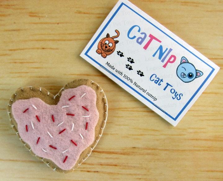 Catnip Heart cookie