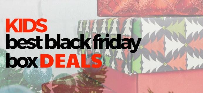 Best Black Friday 2016 Subscription Box Deals for Kids!