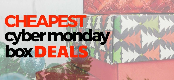 The Cheapest Subscription Box Deals for Cyber Monday!