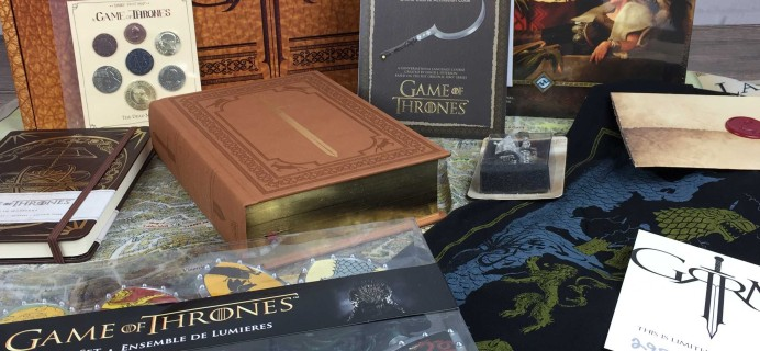 George R.R. Martin Game of Thrones Box Review – Limited Edition Box