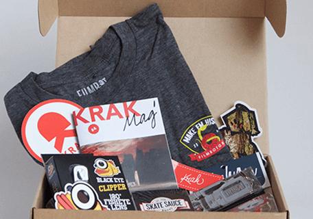 KRAKBOX Black Friday Skateboarding Subscription Box Deal – Get an Extra Box FREE!!