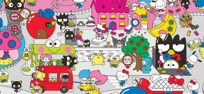 Sanrio Small Gift Crate Subscriptions Available Now!