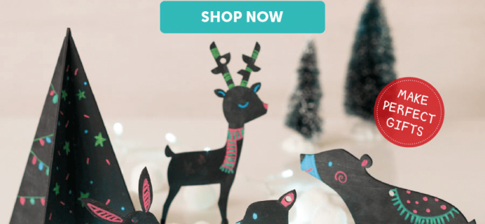 Kiwi Crate Holiday Crates Now Available + Free Shipping Deal!