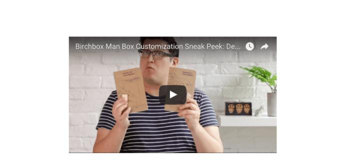 December 2016 Birchbox Man Sample Choice Spoilers & Coupon