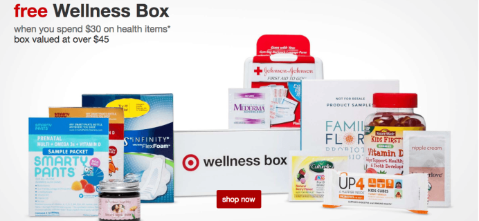 $10 Target Family & Self Wellness Boxes 50% Off – Just $4.99!