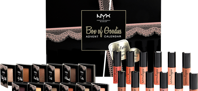 NYX Box of Goodies Beauty Advent Calendar Available Now!