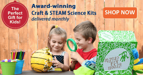 Green Kid Crafts Black Friday 2016 Deal: 70% Off First Month Coupon!