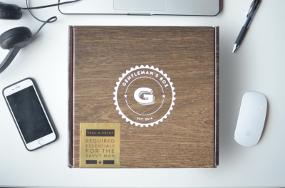 NEW Gentleman's Box Subscriptions: Premium Box + Item of the Month Subscriptions!