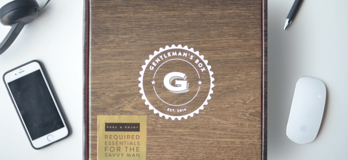 Gentleman's Box Limited Edition Anniversary Box Pre-Orders Open!