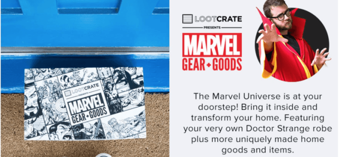 Marvel Gear + Goods November 2016 LAST DAY + Full Spoilers!