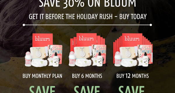 Bluum Early Cyber Monday Deal! 50% Off First Month!