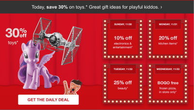 TODAY ONLY Target Deal: Save 30% on Toys, Including Kids Advent Calendars!