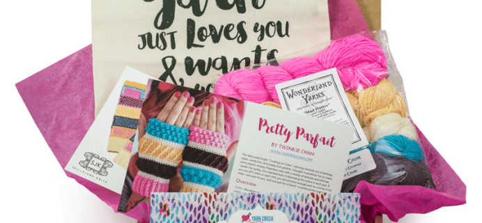 Yarn Crush Cyber Monday Deal: Save $15 On Subscriptions!!