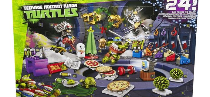 Mega Bloks Teenage Mutant Ninja Turtles Advent Calendar: $11.99!