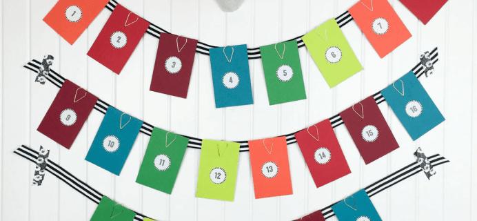 Pipsticks Advent Calendar: Available Now!