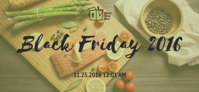 Meal Time Box Black Friday Subscription Deal: Save 20% + Free Desserts! YUM!
