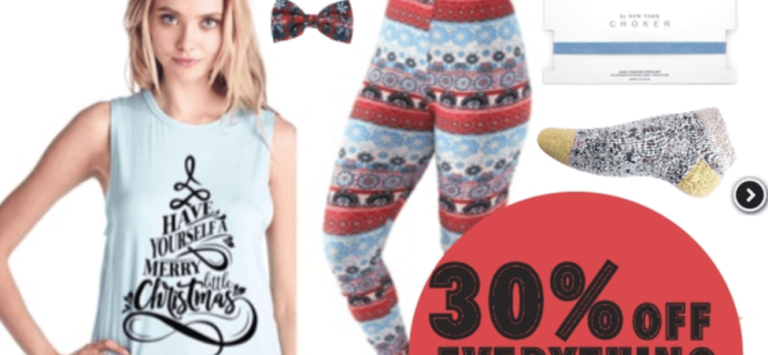 Hanee21 Box Cyber Monday Deal – Save 30% on Everything!!