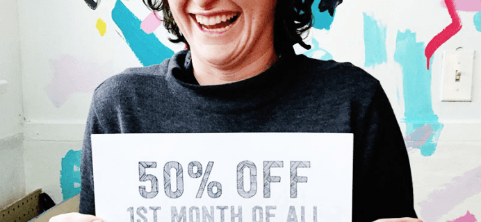 Pipsticks Black Friday Coupon: Save 50% on your first month!!