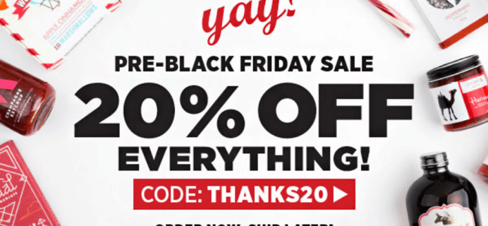 Mouth.com Pre-Black Friday Sale – 20% Off Monthly Boxes + Everything In Shop!